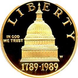Image of 1989-W Congress $5 PCGS Proof 69 DCAM