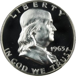 Image of 1963 50c NGC Proof 68+ CAM