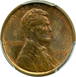 Image of 1909 VDB 1c PCGS MS64 BN