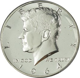 Image of 1964 50c PCGS Proof 67 (Accented Hair)