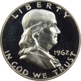 Image of 1962 50c PCGS Proof 67 DCAM