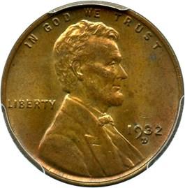 Image of 1932-D 1c PCGS MS63 BN