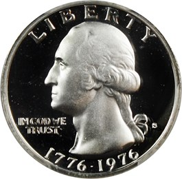 Image of 1976-S 25c PCGS Proof 69 DCAM (Silver)
