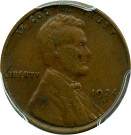 Image of 1924-D 1c PCGS VF35