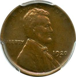 Image of 1920-D 1c PCGS AU58
