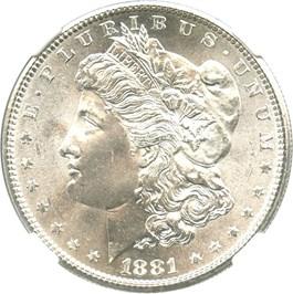 Image of 1881-S $1 NGC MS66