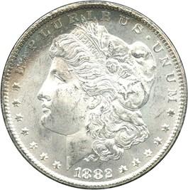 Image of 1882-CC $1 GSA Hoard/NGC MS64