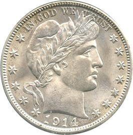 Image of 1914 50c PCGS/CAC MS64