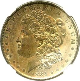Image of 1884-O $1 NGC MS64