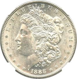 Image of 1888-S $1 NGC MS61