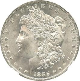 Image of 1885-O $1 NGC MS67