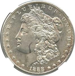 Image of 1888-S $1 NGC AU55