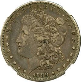 Image of 1889-CC $1 NGC VF35 (Highland Collection)