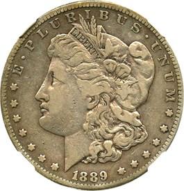 Image of 1889-CC $1 NGC VF25 (Highland Collection)