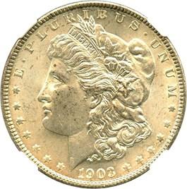 Image of 1903 $1 NGC MS64