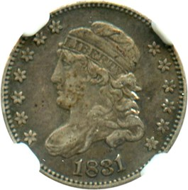 Image of 1831 H10c NGC VF35