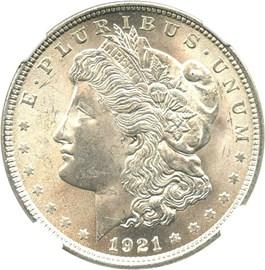 Image of 1921 Morgan $1 NGC MS65