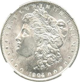 Image of 1904-O $1 NGC MS65