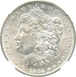 Image of 1904-O $1 NGC MS64