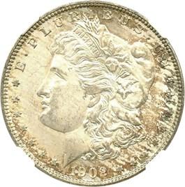 Image of 1902-O $1 NGC MS65