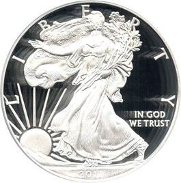 Image of 2011-W Silver Eagle $1 PCGS Proof 70 DCAM (Doily)