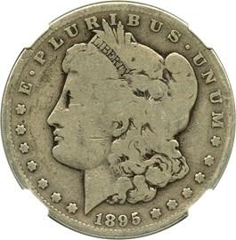 Image of 1895-S $1 NGC Good-4