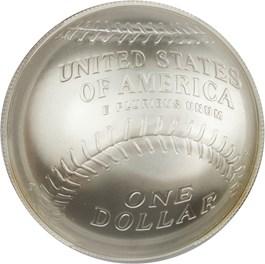 Image of 2014-P Baseball Hall of Fame $1 PCGS MS70 (Pedro Martinez Signature)