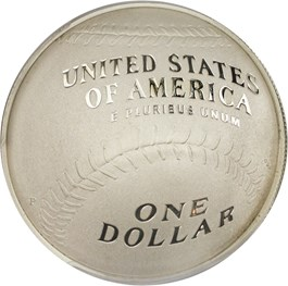 Image of 2014-P Baseball Hall of Fame $1 PCGS Proof 70 (Darryl Strawberry Signature)