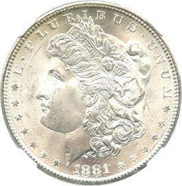 Image of 1881-S $1 NGC MS67