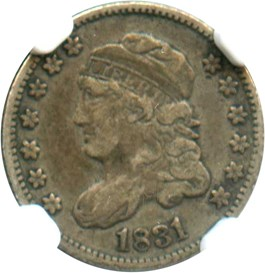 Image of 1831 H10c NGC VF25