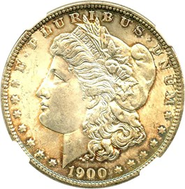 Image of 1900-O $1 NGC MS65