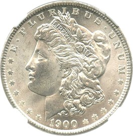 Image of 1900-O $1 NGC MS65