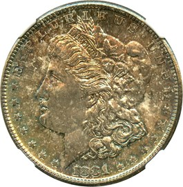 Image of 1881-S $1 NGC MS65