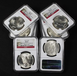 Image of Collector Lot of 1922 & 1923 $1: All NGC MS64 (8 Coins)