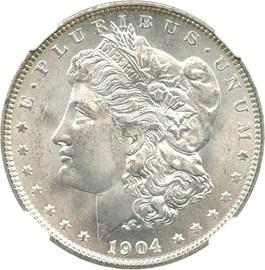 Image of 1904-O $1 NGC MS66