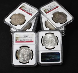 Image of Collector Lot of 1904-O $1: All NGC MS64 (10 Coins)