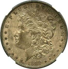 Image of 1898-S $1 NGC AU55 - No Reserve!