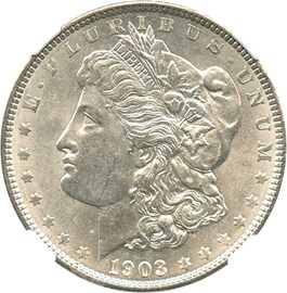Image of 1903 $1 NGC MS63