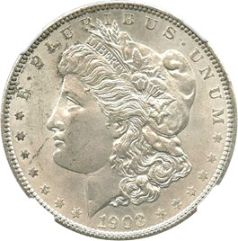 Image of 1903 $1 NGC MS65