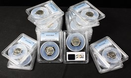 Image of Collector Lot of 1967 5c: All PCGS MS65 (20 Coins) - No Reserve!