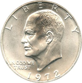 Image of 1972-S $1 PCGS MS68 (Silver)