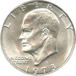 Image of 1973-S $1 PCGS MS66 (Silver)