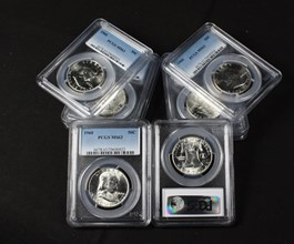 Image of Collector Lot of 1960 50c: All PCGS MS63 (8 Coins)