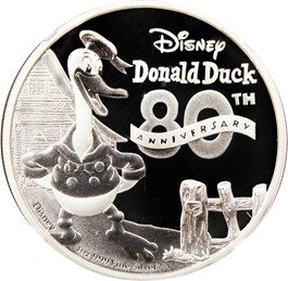 Image of Niue: 2014 Donald Duck 80th Anniversary $2 NGC PF70 UCAM (Early Releases)