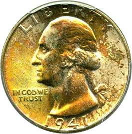 Image of 1941 25c PCGS MS66+