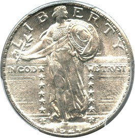 Image of 1924-D 25c PCGS/CAC MS66