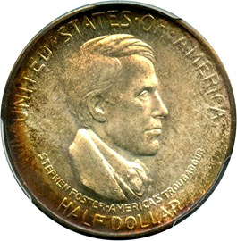 Image of 1936-S Cincinnati 50c PCGS MS66