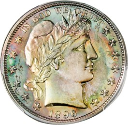 Image of 1896 50c PCGS Proof 67