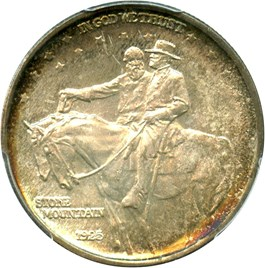 Image of 1925 Stone Mountain 50c PCGS MS67+