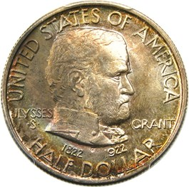 Image of 1922 Grant 50c PCGS/CAC MS66
